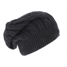 Bonnet Long  Florence Noir- Traclet