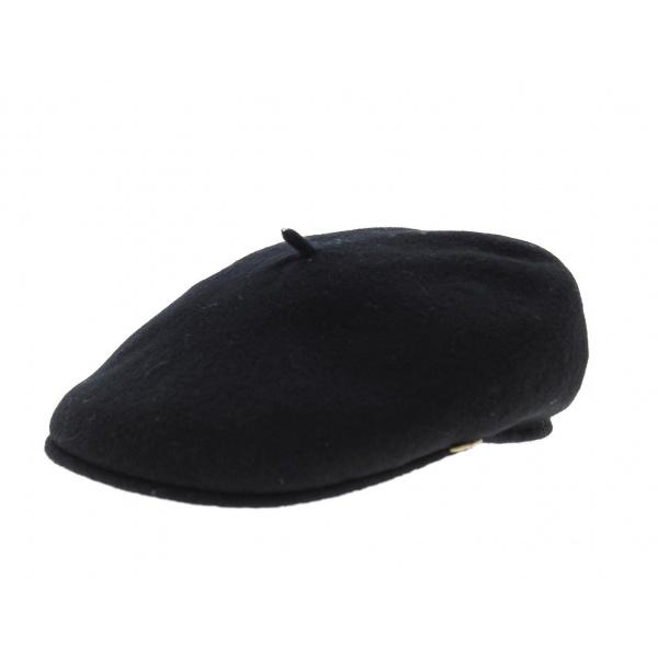 Beret casquette noir