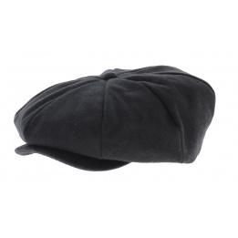 Black boston cap