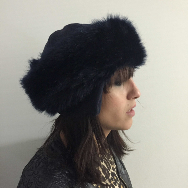 Chamonix Fur Chef's hat - Black