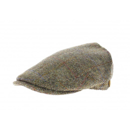 Casquette Plate en Harris Tweed York - Olney