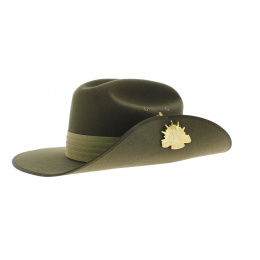 Akubra felt hat - Military