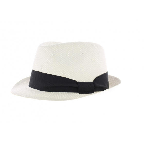 Blue brother straw hat style