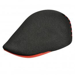 Casquette Panel Stripe 507 Noir rayures rouges - Kangol