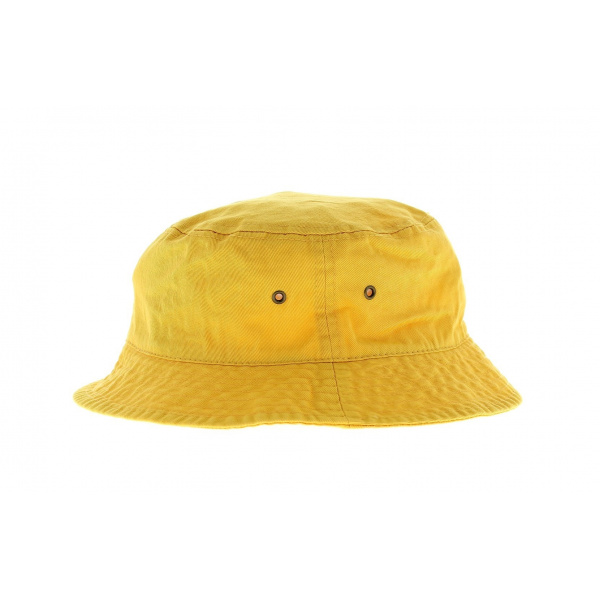 Bob coton jaune
