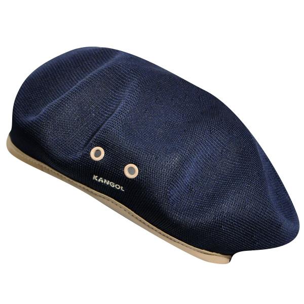 3d02068f0973c Navy blue beret Tropic monty par Kangol