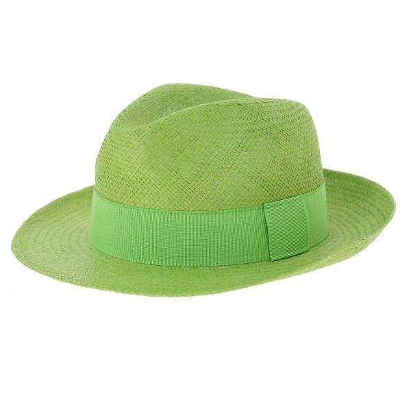 Chapeau panama Manabi - Vert