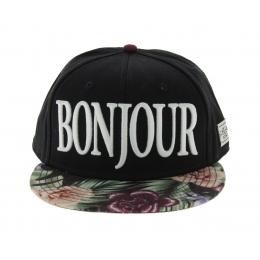 Casquette Snapback C&S - Bonjour Noire