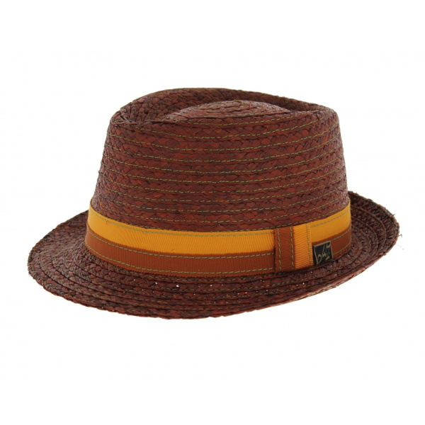 Chapeau Fedora - Ashley Raffia teack