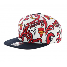 Atlanta Braves Red Cap - 47 Brand