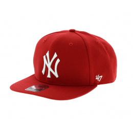 Casquette New York rouge - 47 Brand