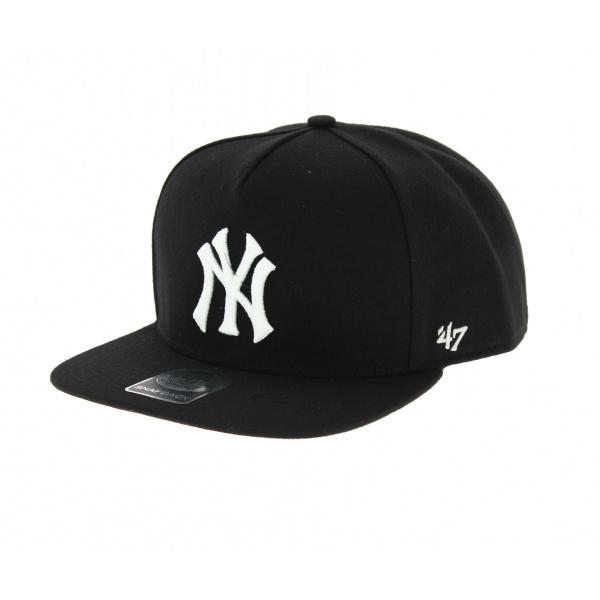 Casquette NY noire et blanche - 47 Brand