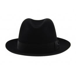 Fedora Black Felt Hat - Tonak