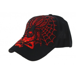 Casquette Black Widow - Hot leathers