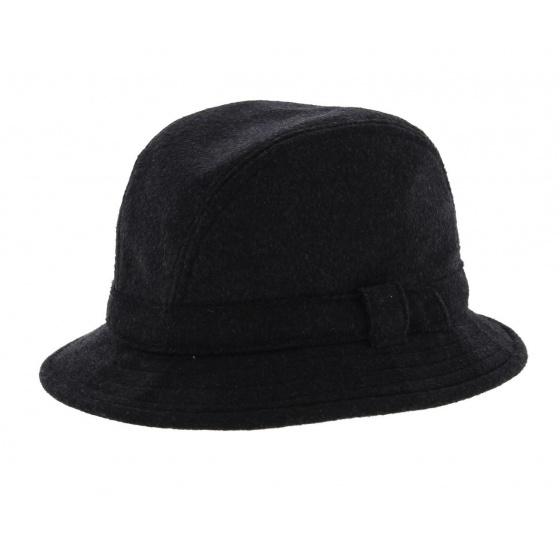 Chapeau bob anglais Loden noir - City Sport