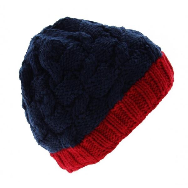 Bonnet Nuby - Cherry-red Torsade