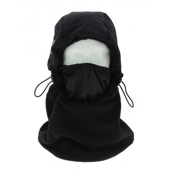 Cagoule - The Fleece Hood - Noir