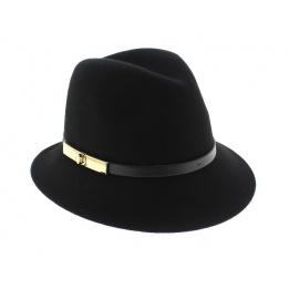 Chapeau Trilby Darcy Noir - Betmar