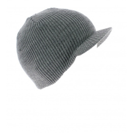 Bonnet The Basic Heather Grey Coal