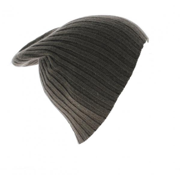 Bonnet Cachemire Marron Francais - Traclet