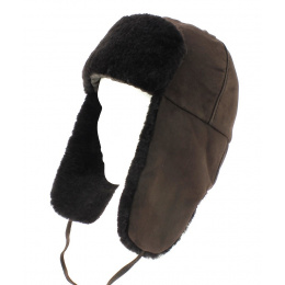 Ushanka  Leather