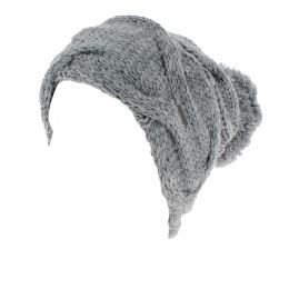 Bonnet Pompon Gris - Wegener