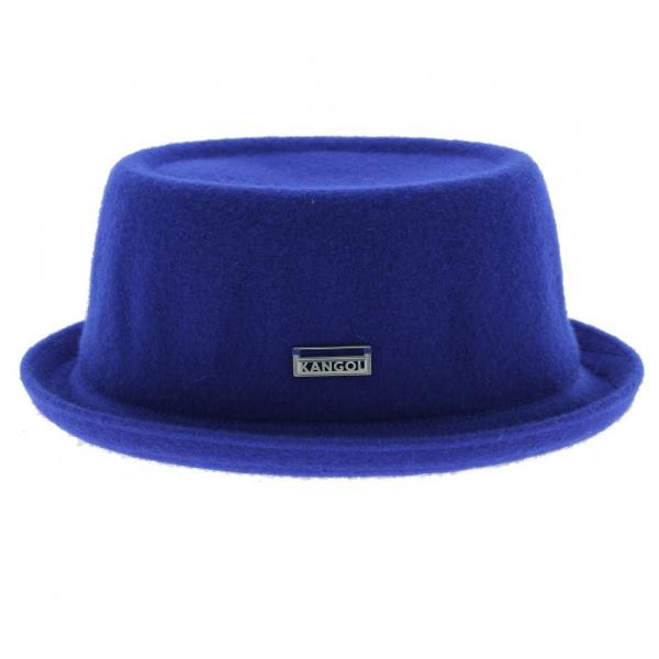 Chapeau PorkPie Wool Mowbray Bleu - Kangol