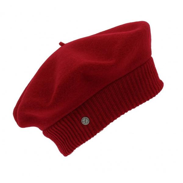 Beret Parisienne Héritage par Laulhère - Rouge Hermès