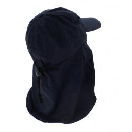 Casquette saharienne Rosholt - Bleu marine