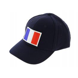 Leather baseball cap