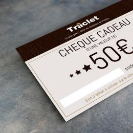 cheque cadeau 50€