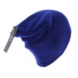 Bonnet long officiel de la FFF acrylique Bleu