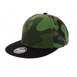Snapback Cap - Fantasy Camouflage