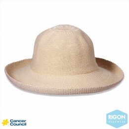 Chapeau Breton Beige Polyester