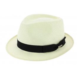 Chapeau trilby Blanc Salisbury Toyo - Stetson