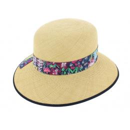 Chapeau Cloche Eleanor Panama Naturel - Christy's