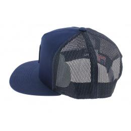 Cap Trucker Box Logo Blue-Marine - HUF