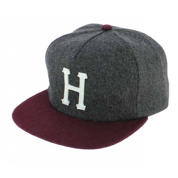 Strapback Wool Classic Two-coloured Wool Cap - HUF