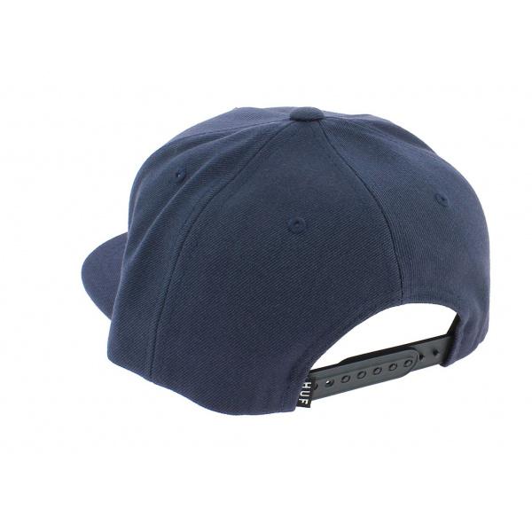 Casquette Snapback Chambray Coton Bleu Ciel - Huf