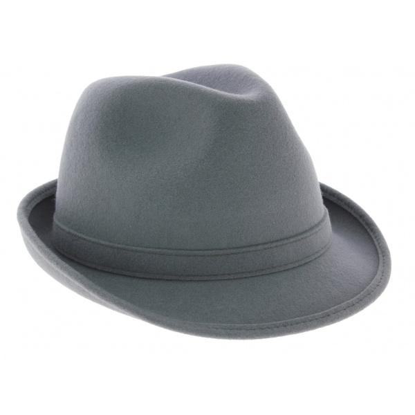 Chapeau trilby Loden Gris - Traclet
