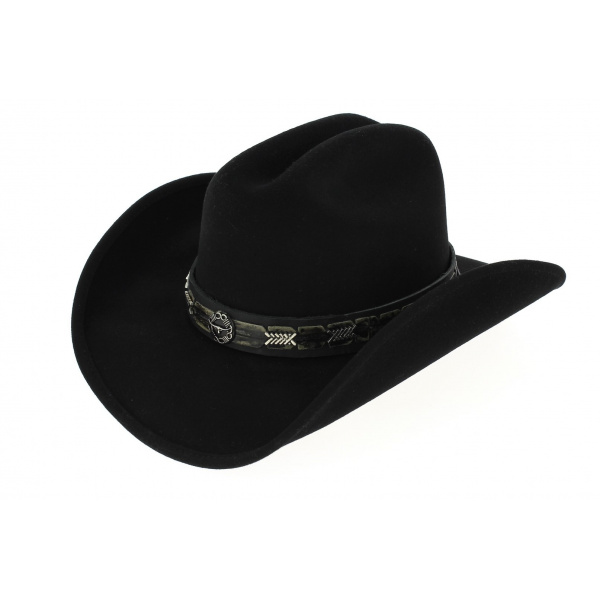 Chapeau Country Pass The Buck noir - Bullhide