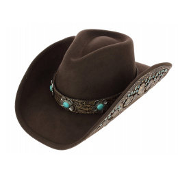 Sweet Emotion Felt Cowboy Hat - Bullhide
