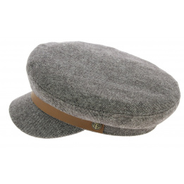 Marin Fiddler Brown Wool Cap - Brixton