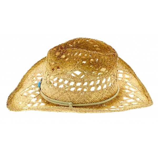 Chapeau Cowboy Lost In Love Paille Naturelle - Bullhide