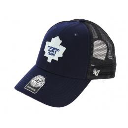 Trucker Snapback Mapple Leafs Cap Blue - 47 Brand