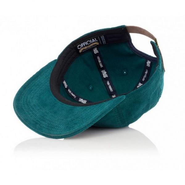 Casquette Snapback Cord Dolo Bleu California - Official