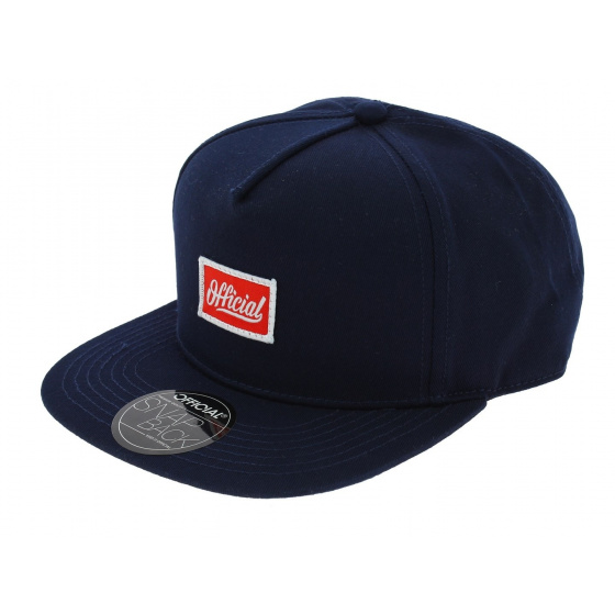 Snapback Pequeños Cap - Navy Blue - Official