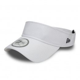 Visière Diamond simple - Blanche New Era