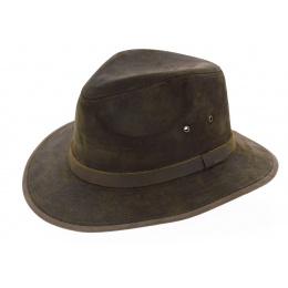 Traveller Hat Maroon Green Flinder - Jacaru
