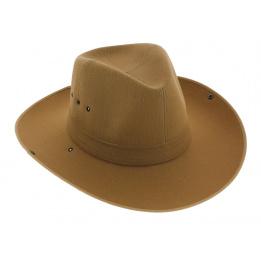 Chapeau camarguais Riviera Camel